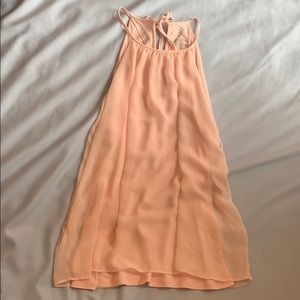 Pastel Pink sleeveless blouse WORN ONCE